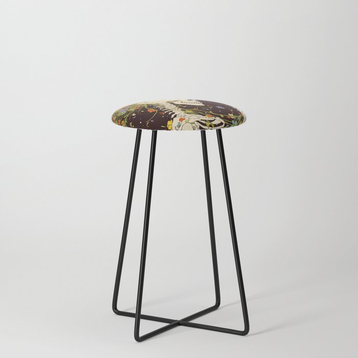 I Thought of the Life that Could Have Been Counter Stool