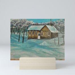 Glen Robertson Sugar Shack Mini Art Print