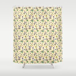 Circu Seals Shower Curtain