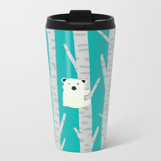 Lonesome Koala Metal Travel Mug