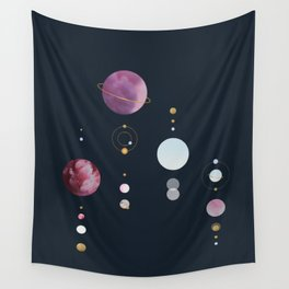 Infinite Moons : The Shadows Wall Tapestry