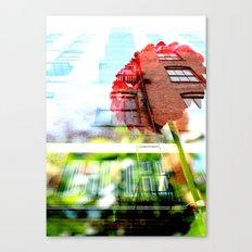 Six Story Dahlia Canvas Print