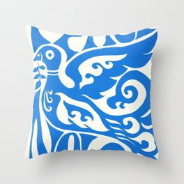 Dove Love Throw Pillow
