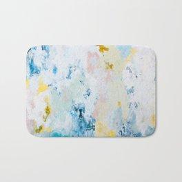 Pura White Bath Mat