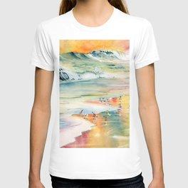 Shoreline Watercolor T-shirt