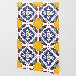 talavera tile Wallpaper