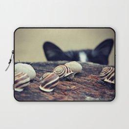 Cat Snails Laptop Sleeve