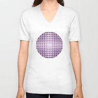 dots V-neck T-shirts featuring dots! by gasponce
