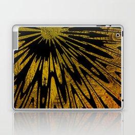 Native Tapestry in Gold Laptop & iPad Skin