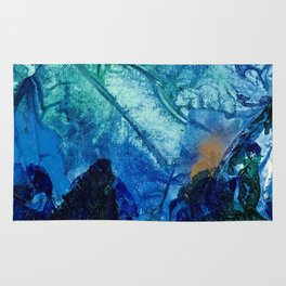 Sea Leaves, Tiny World Collection Rug