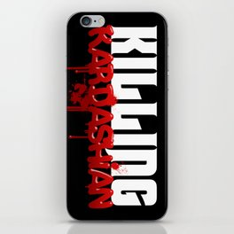 Killing Kardashian Title Logo iPhone Skin
