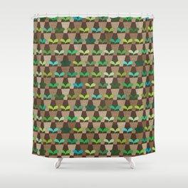 Grandmother's Pot Garden Shower Curtain