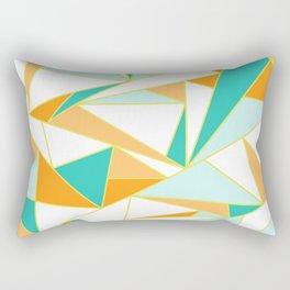 PUMPKIN GLASS WINDOW Rectangular Pillow
