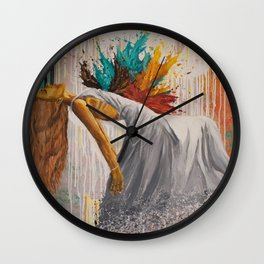 Vulnerable In Love Wall Clock