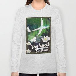 Iceland - go Gliding! Long Sleeve T-shirt