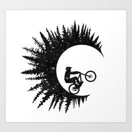 Ink Rider Art Print