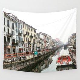 Milano Navigli - Italy Wall Tapestry