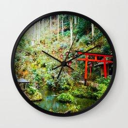 Nanzoin Temple, Fukuoka  Wall Clock