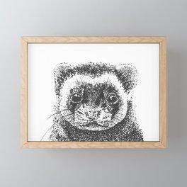 All Is Ferret In Love and War Framed Mini Art Print