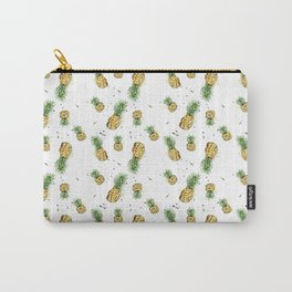 Small Pineapple Pattern Carry-All Pouch
