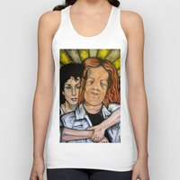 mask Tank Tops featuring Mask  by Portraits on the Periphery