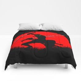 tree sword warrior Comforters