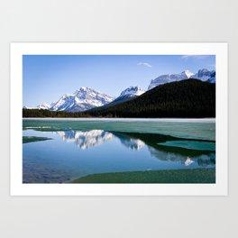 Banff to Jasper Art Print