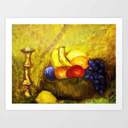 2ND OIL PAINTING Art Print