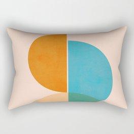 Abstraction_SUN_Rising_Minimalism_001 Rectangular Pillow