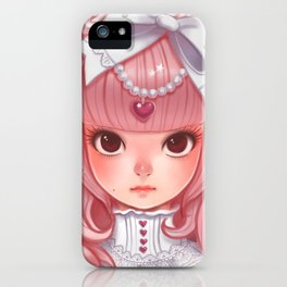 Lolita in my heart iPhone Case