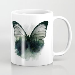 Double Butterfly Coffee Mug