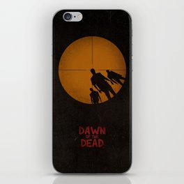Dawn of the Dead iPhone Skin