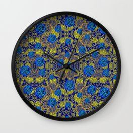 Floral #05 Wall Clock