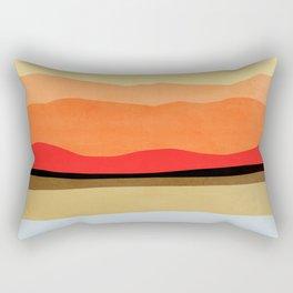 Abstract landscape 1 Rectangular Pillow