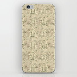 Siskiyou Trees Knit iPhone Skin