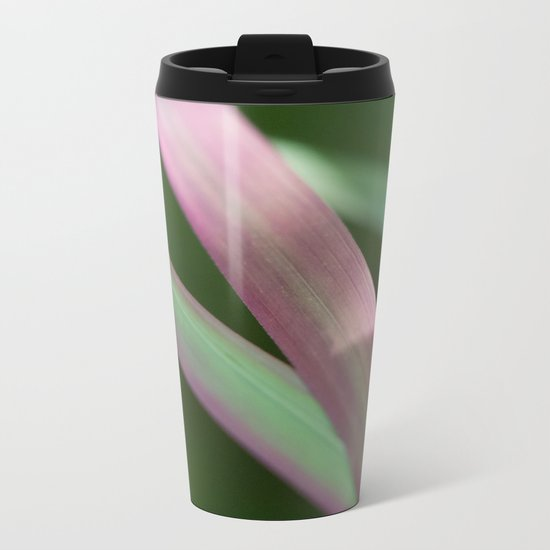 Red Baron close-up (Japanese bloodgrass) #1 #art #society6 Metal Travel Mug