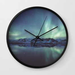 Jokulsarlon Lagoon - Landscape and Nature Photography Wall Clock