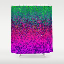 Glitter Dust Background G177 Shower Curtain