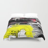 internet Duvet Covers featuring Internet Rash by tastypaper
