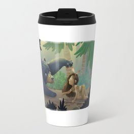 Kuruk and Maska  Travel Mug