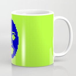 Pixel Face Coffee Mug