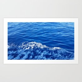 Maltese Sea Art Print
