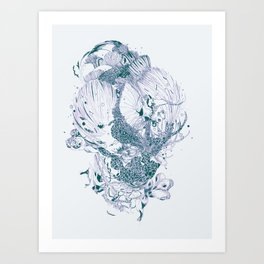 Beautiful Stranger Art Print