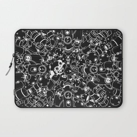 For Good For Evil Laptop Sleeve