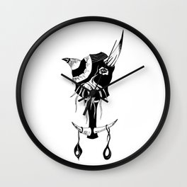 The Scales Wall Clock