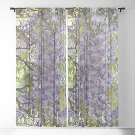 Wisteria Vine Sheer Curtain