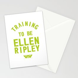 Training to be Ellen Ripley Stationery Cards