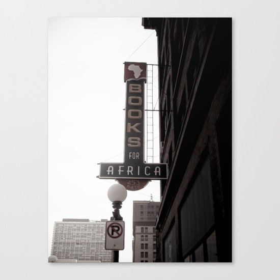 The City She Loves Me Canvas Print