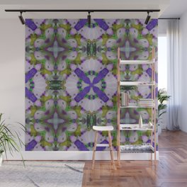 Violet Pinks Wall Mural