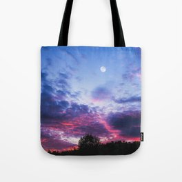 Desert Moon | Landscape Photography Tote Bag